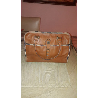 Burberry Brown Leather Bag