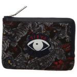 Dark Grey Color Kenzo Wallets Accessories for Men
