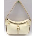 Salvatore Ferragamo Gancini Shoulder Bag Leather Italy Vintage