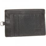 EMPORIO ARMANI Black Leather Card Holder