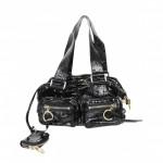CHLOÉ Black Leather Bag