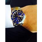 Rolex Submariner Steel Gold Watch